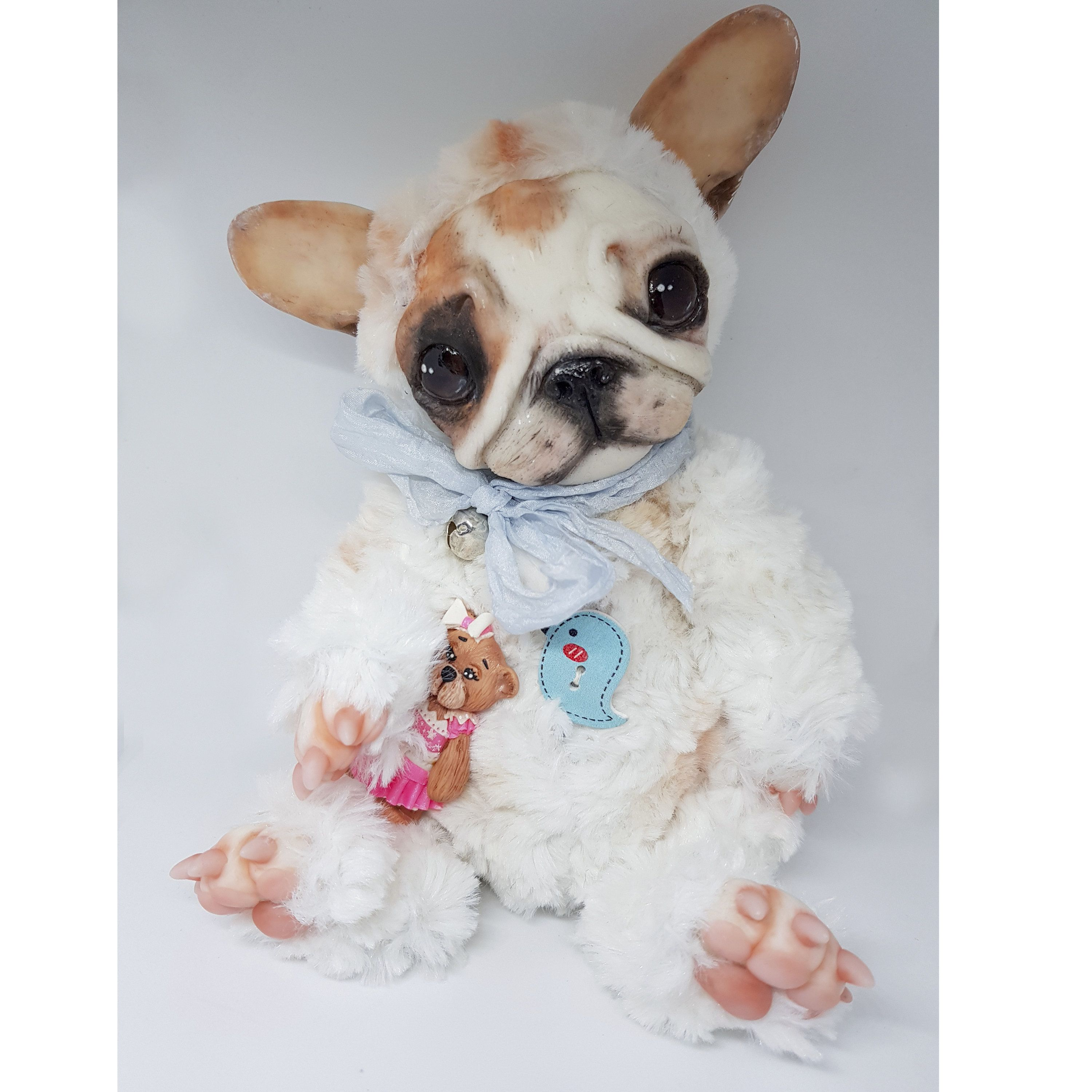 French Bulldog Little Dog Sweet Animal Funny Toy Cute And