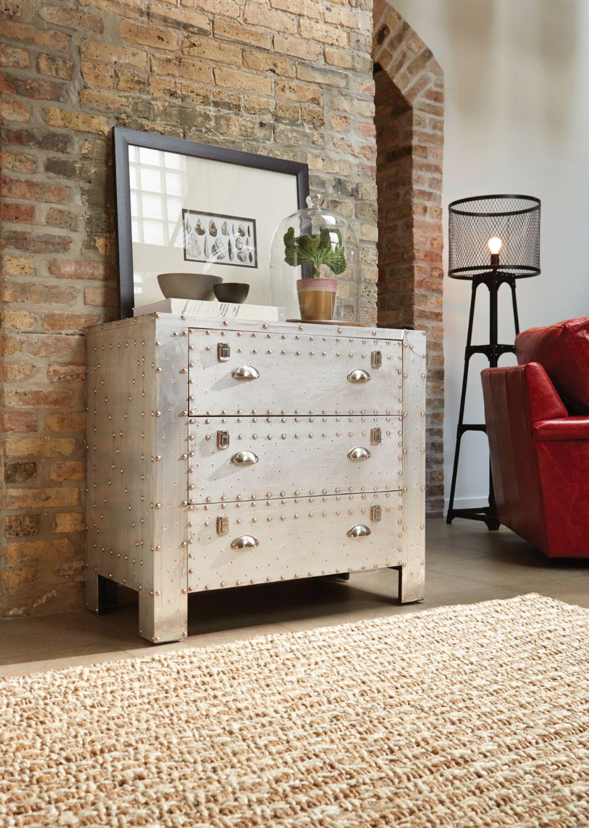 Aluminum rivet accent mattress furniture