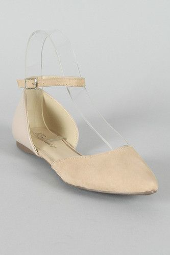 Pastel Color Pointy Toe Ballet Flat Ankle Strap Shoe Patent Suede Dolley 01 | eBay