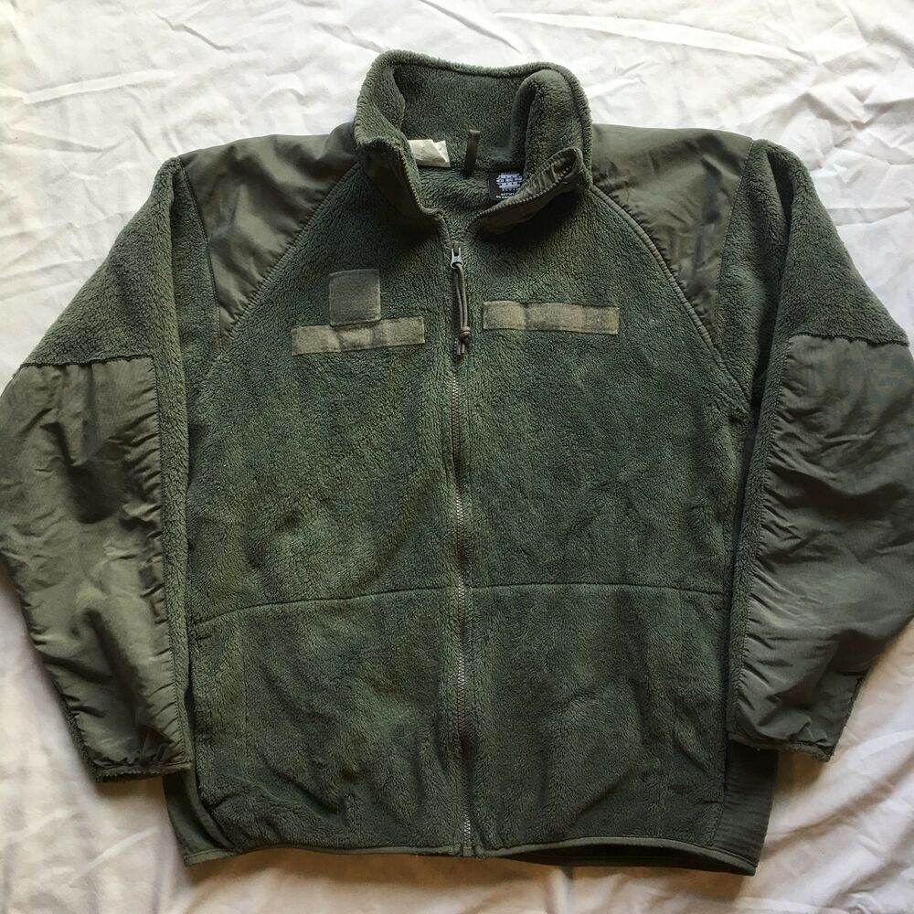 US Military ECWCS Gen 3 Level 3 Polartec Foliage Green Fleece Jacket G.I