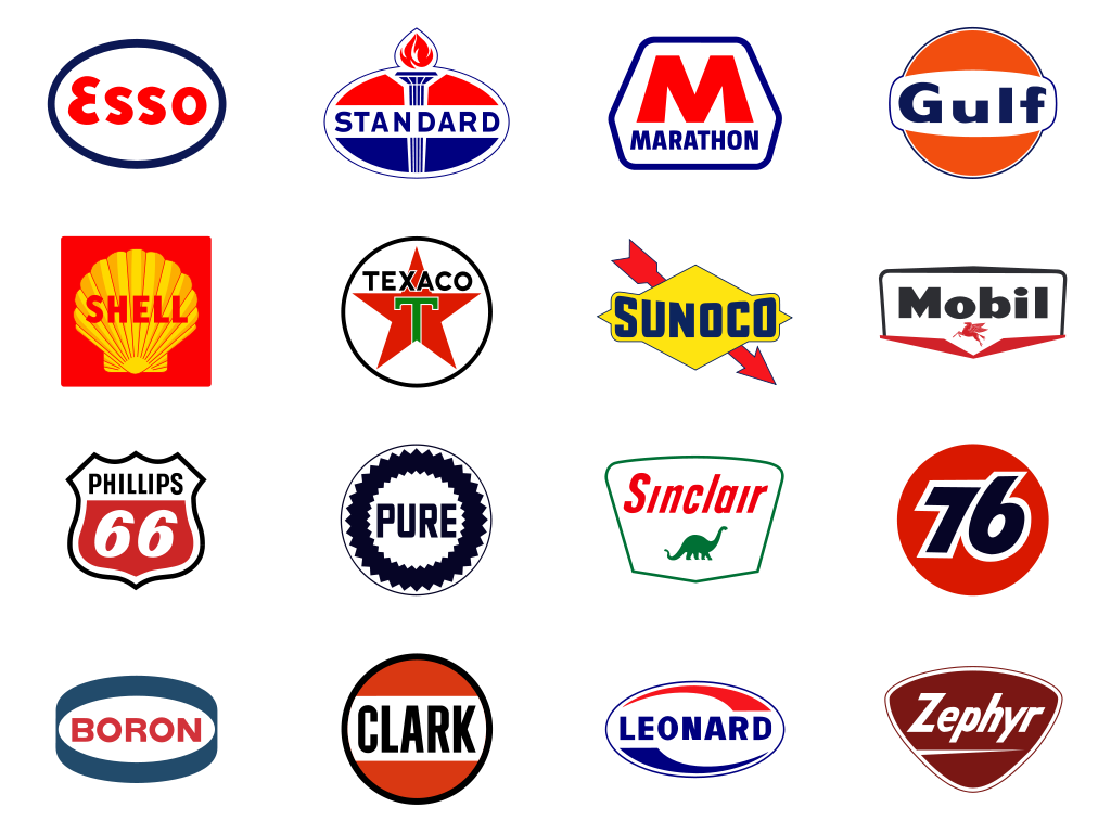 Chuck Michaels uploaded this image to 'Classic Gas Station Logos ...