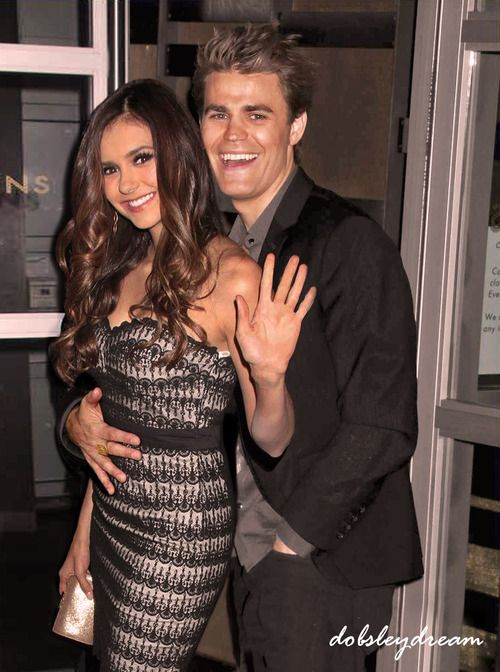 Paul wesley dating nina