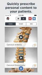Orthopaedic Patient Education Apps: iPhone/iPad Download  Shoulder Decide, Hand Decide, Spine Decide, Knee Decide, Foot Decide. These apps are free to download and free for personal use. In-apps subscription adds additional features.