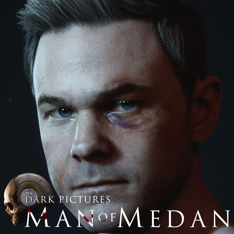Man Of Medan Conrad By Andor Kollar Dark Pictures Conrad Man