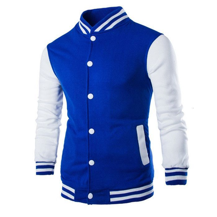 Men's Baseball Fashion Design Slim Fit College Varsity Jacket ...