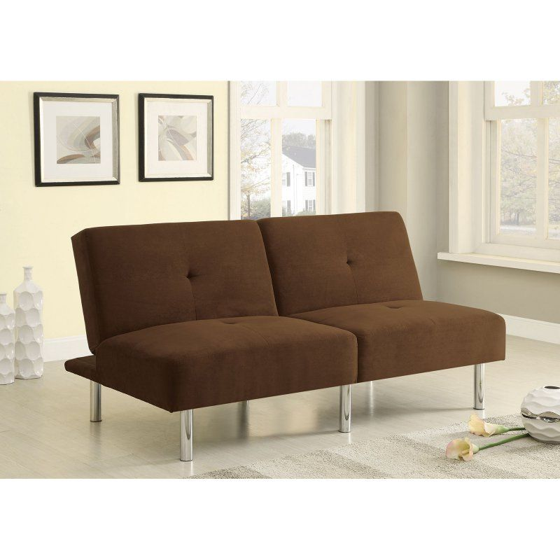 Coaster Brewster Convertible Sofa Chocolate - 300207