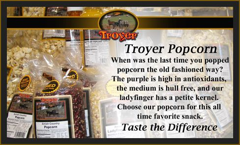 Troyer Cheese       Specialty Items