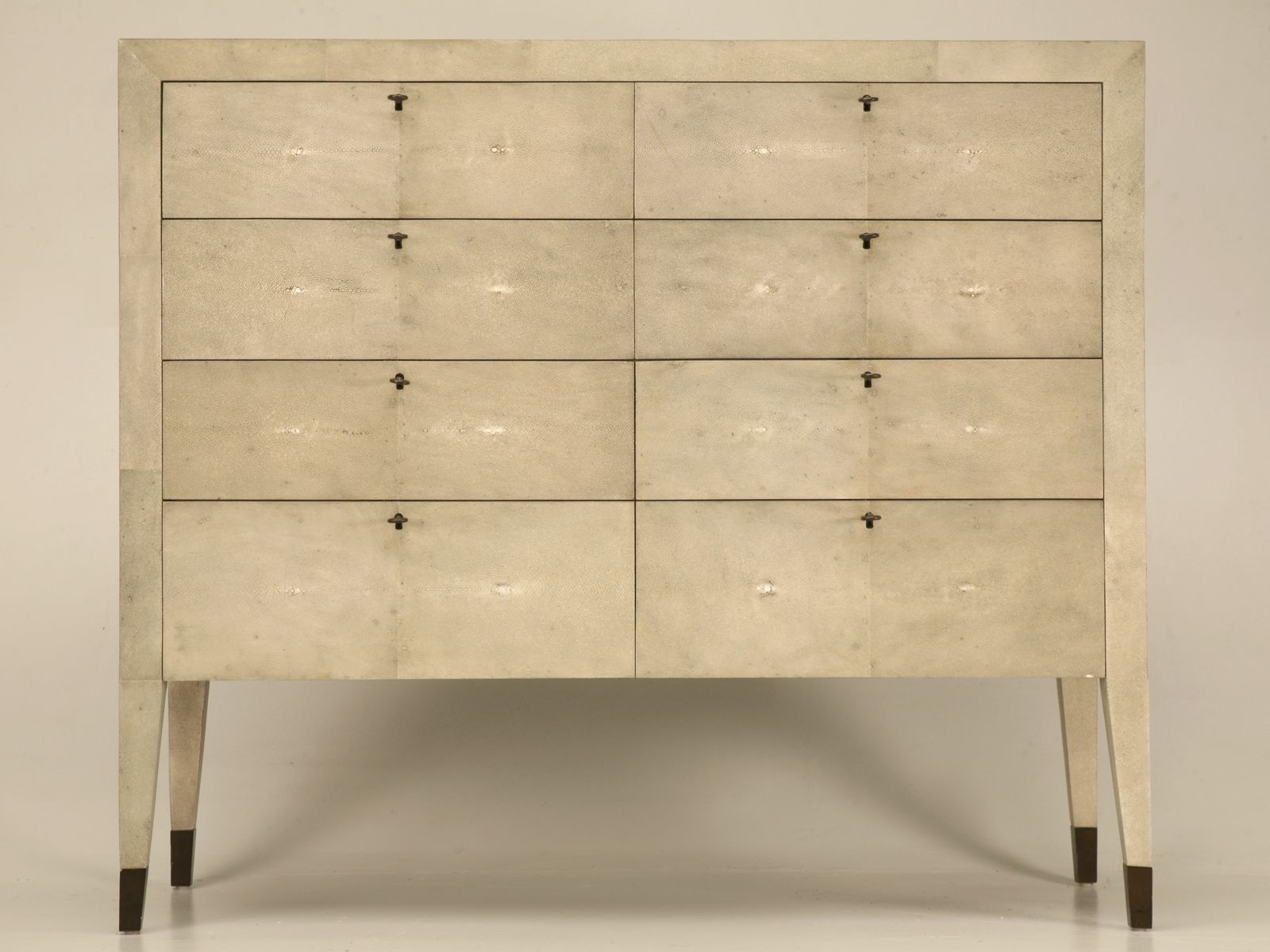 Vintage Pirite Shagreen Eight Drawer Commode Or Chest