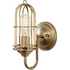- Overview - Details - Why We Love It - We're crushing on this sconce inspired by the 20th century Industrial Revolution. Paying homage to the nation's vintage factories and warehouses, this Urban Ren
