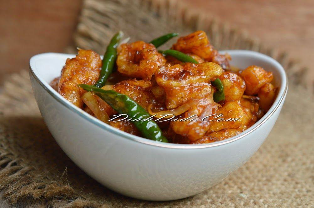 Diah Didis Kitchen Cumi Pedas Manis Di 2019 Resep