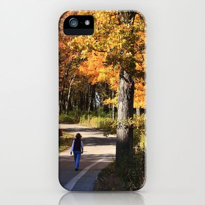 Walking iPhone Case by Lyle58 - $35.00