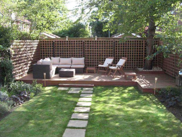 ideas para decorar jardines modernos con sillones