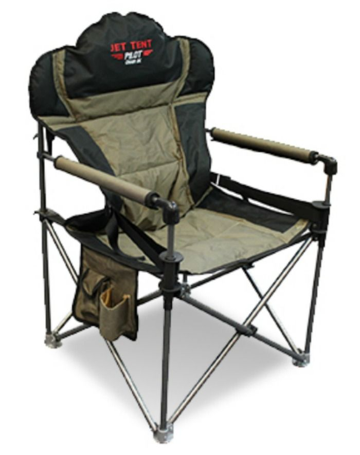Jet Tent Pilot Chair Dx With Lumbar Jtpcdx Camping Chairs