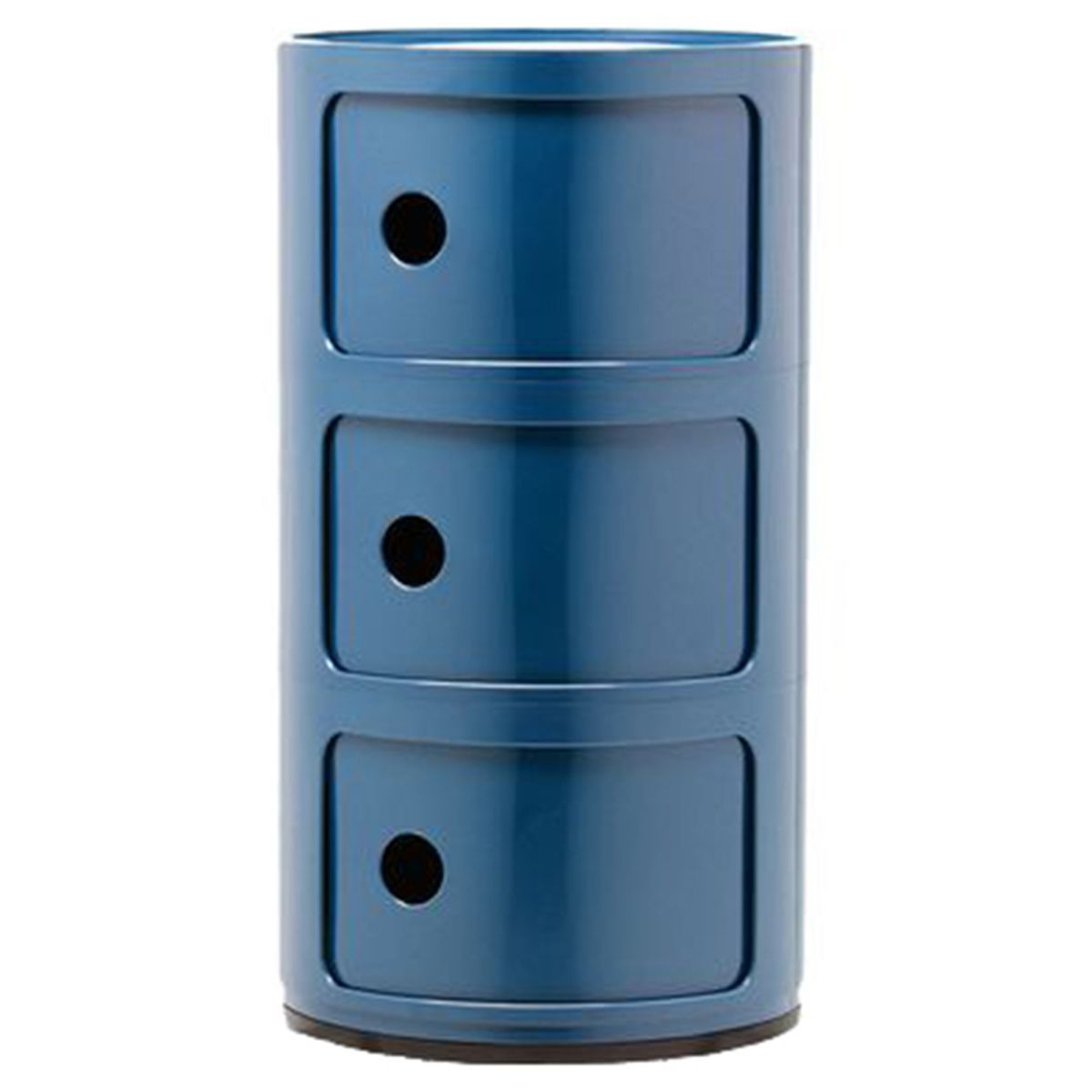 Kartell Componibili Storage Unit 3 Modules Blue Componibili Storage Unit 3 Modules Blue Appareldesign Blue Componibi In 2020 Kartell Storage Unit The Unit