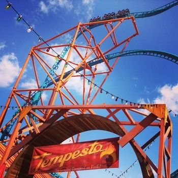 Tempesto Is Now Open At Busch Gardens Williamsburg Check Out The Ride And The Shop Theme