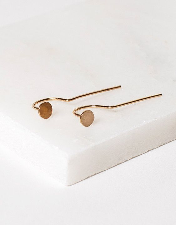 Minimalist Earrings by ARO