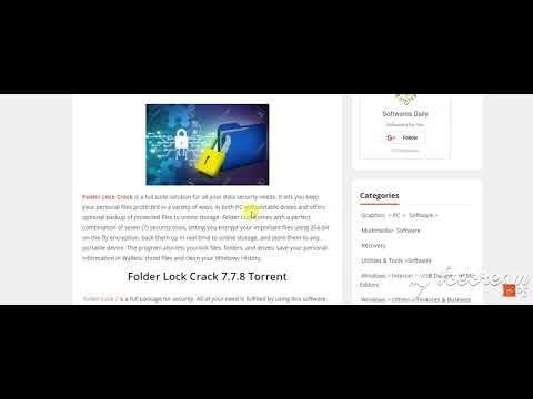 folder lock 7.7.8 keygen