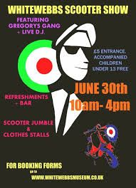 Whitewebbs scooter show 30th June
