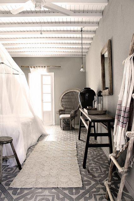 beautiful tiles Suelos, Dormitorio y Interiores