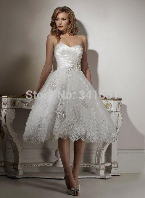 Short Corset Wedding Dresses   Unwedding Wedding   Pinterest ...