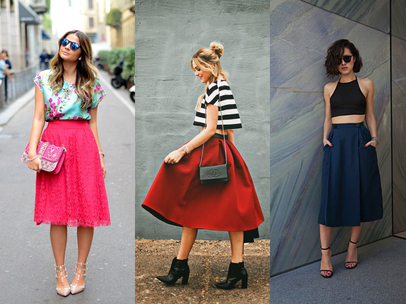 Entenda de Moda: Inspire-se Saia Midi
