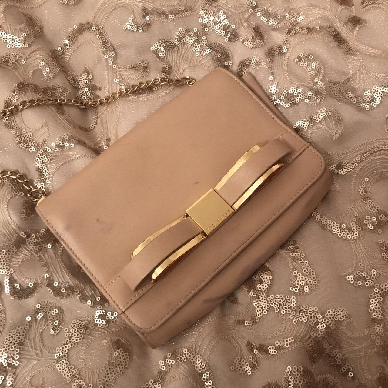21caf56d9 Ted Baker Clutch bag Slight wear and tear - Depop