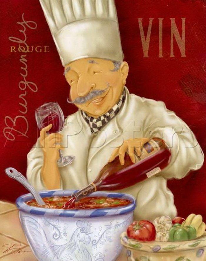Надписью костя, прикольные картинки на тему повар