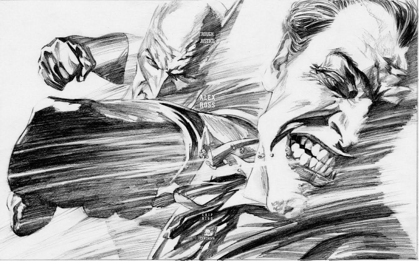 Batman And Joker By Alex Ross Quadrinhos Do Coringa Pintura