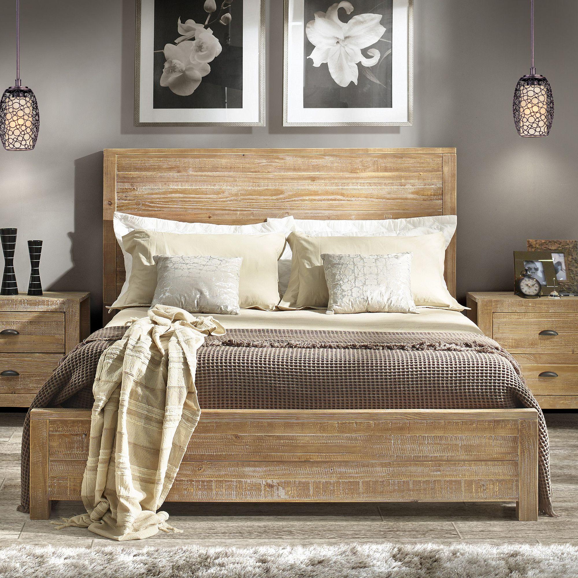 Montauk Standard/Platform Bed Panel bed, Bedroom