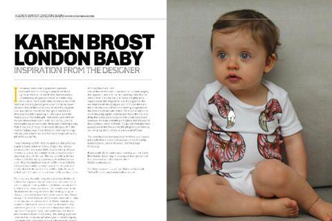 Karen Brost London in the 7 Star Magazine