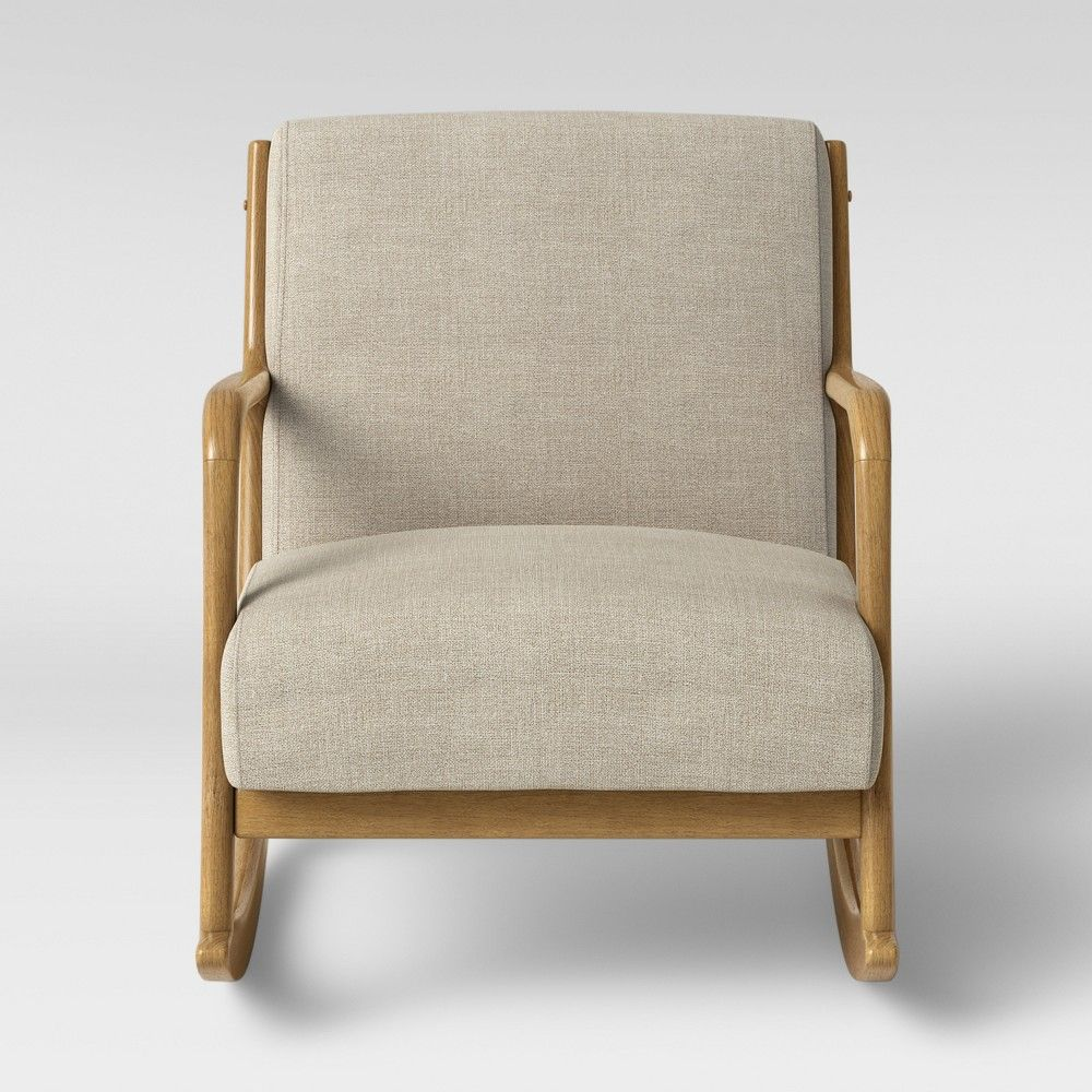 Awe Inspiring Esters Rocking Accent Chair Cream Project 62 White Ncnpc Chair Design For Home Ncnpcorg