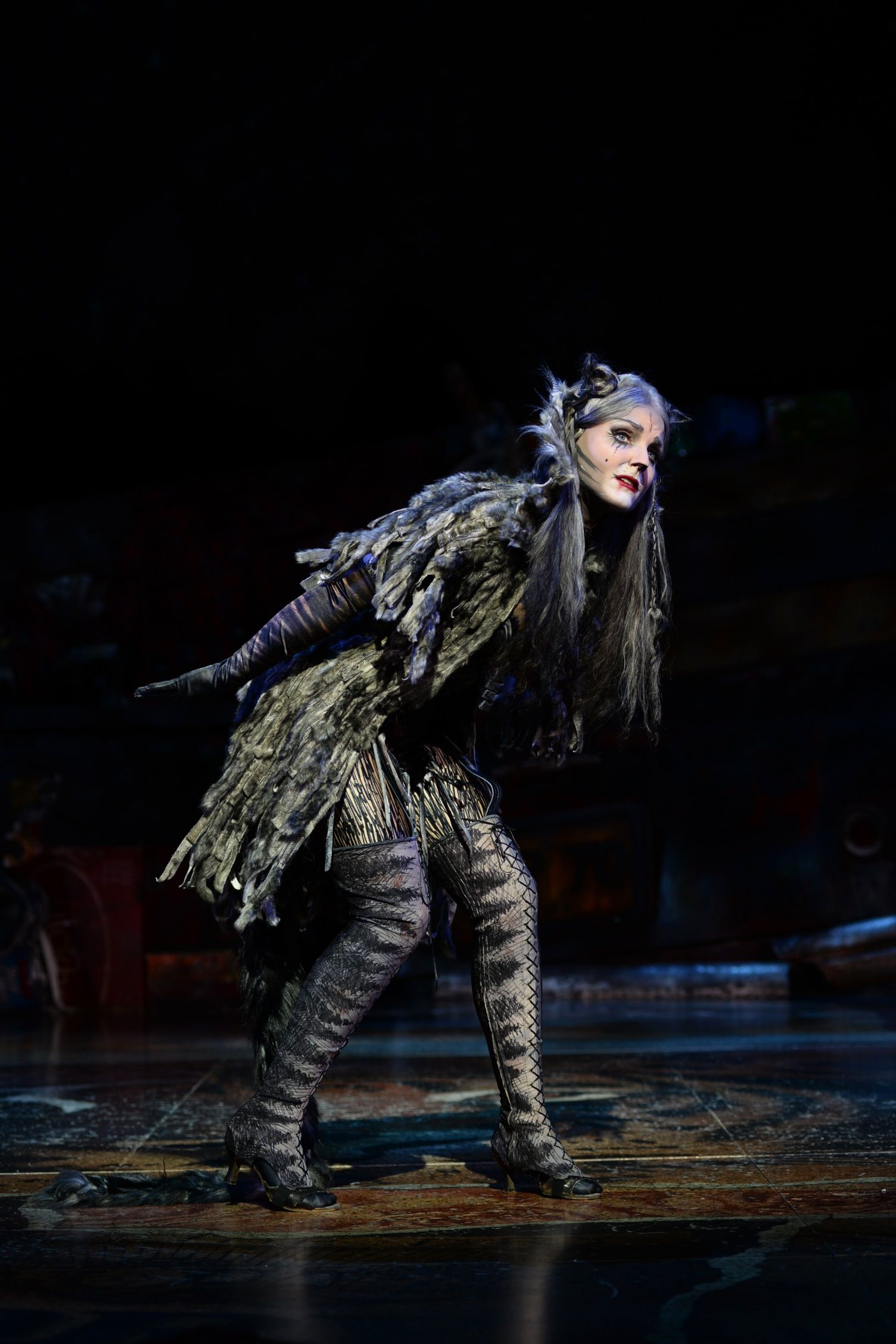 Kerry Ellis as Grizabella Cats the musical costume