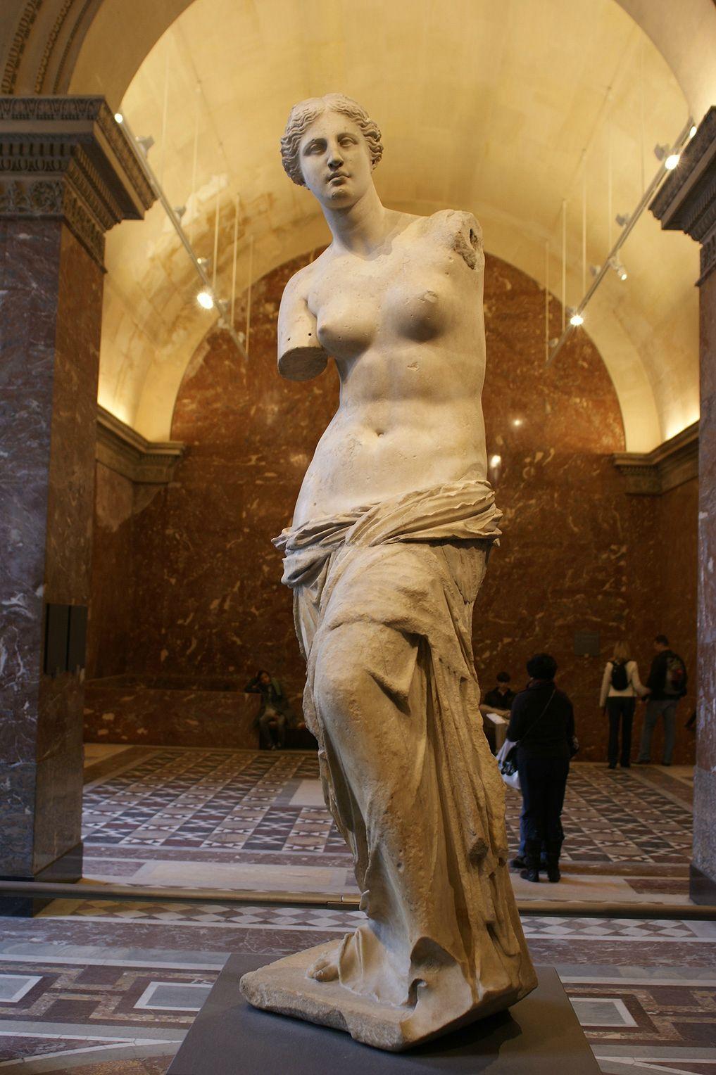 Le-Louvre---Venus-de-Milo