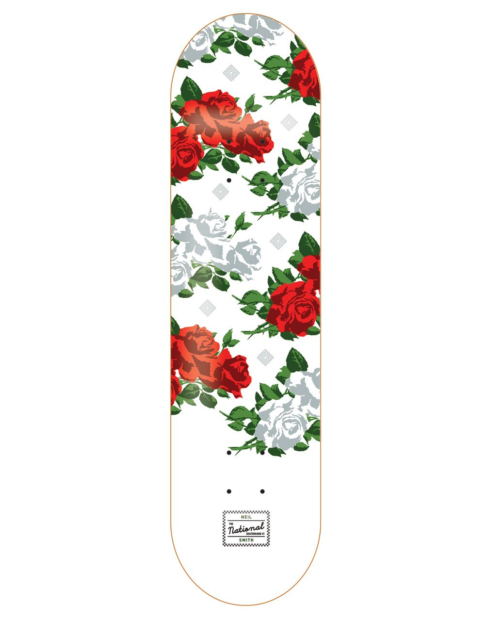 The National Skateboard Co Smith Roses Pro Deck 8 Products I  # Muebles Lacados Gaete