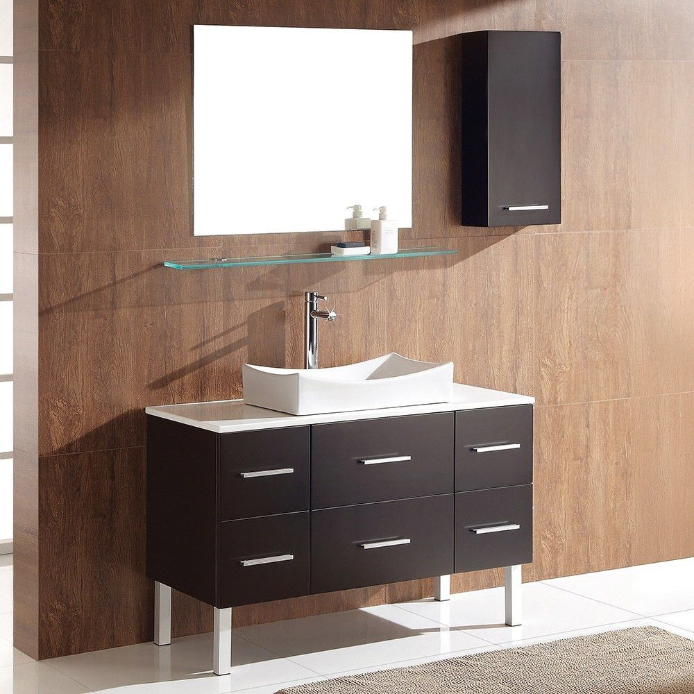 New 44 Inch Bathroom Vanity Cabinet
