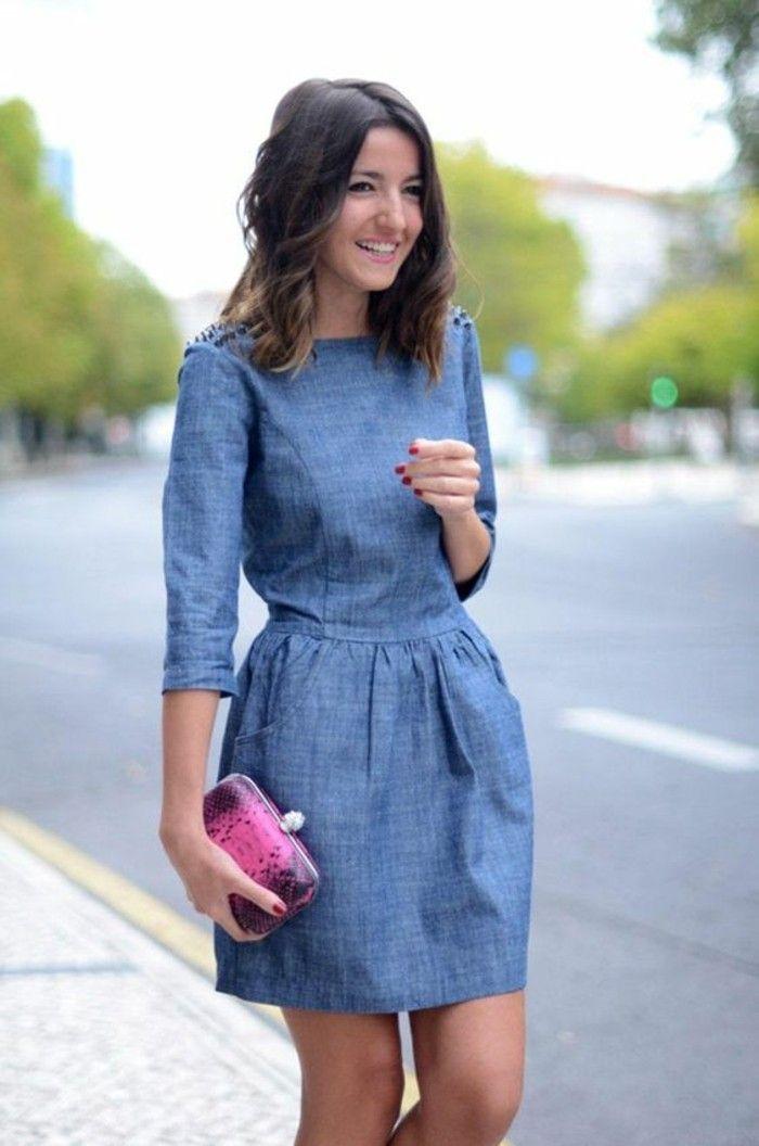 Photo of Jeanskleider: So zeigen Sie Stil mit einem Jeanskleid