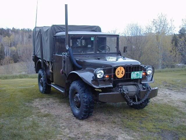 My old truck - 1962 Dodge M37 | Products I Love | Dodge power wagon