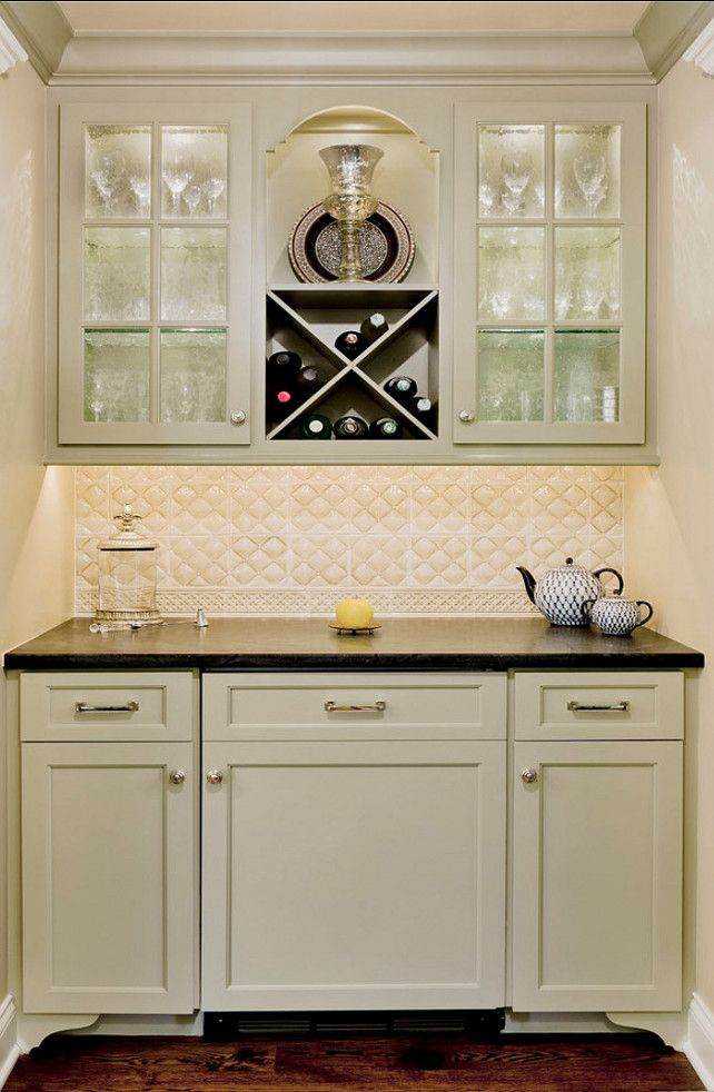 Paint Color Is Benjamin Moore Texas Sage 1503 Countertop Soapstone And Tiles Are By Sonoma Tile