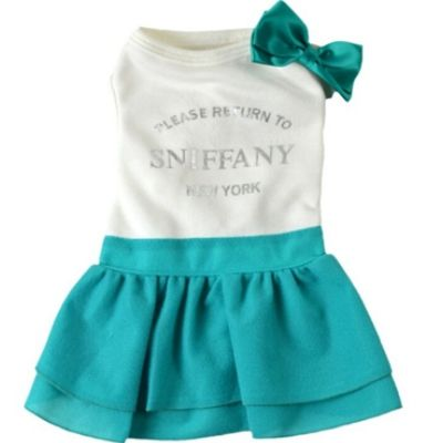 """Ellie's first outfit... """"Please return to Sniffany: New York"""""""