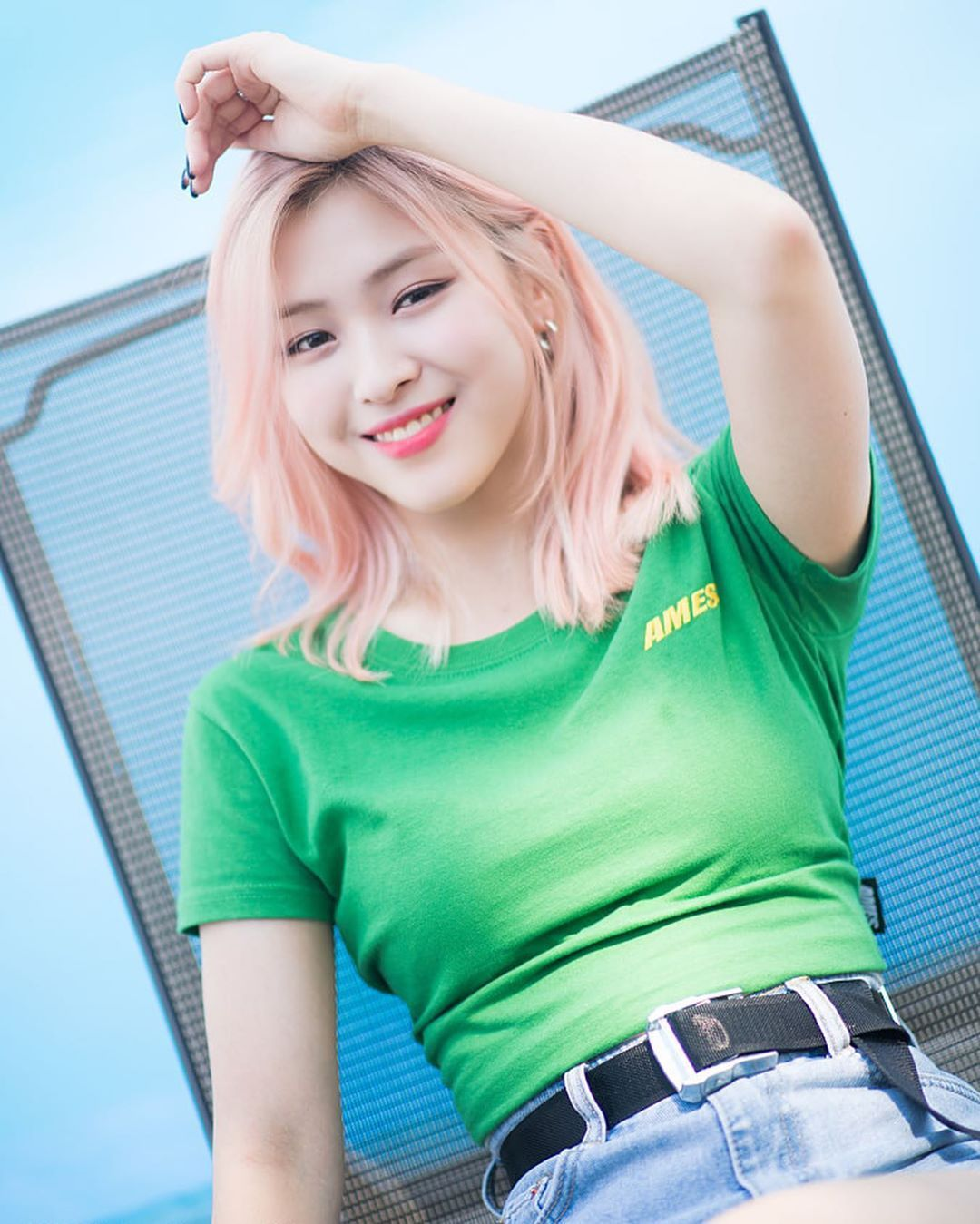 Itzy For Naver X Dispatch Photoshoot Ryujin Itzy Kpop Girls Girl