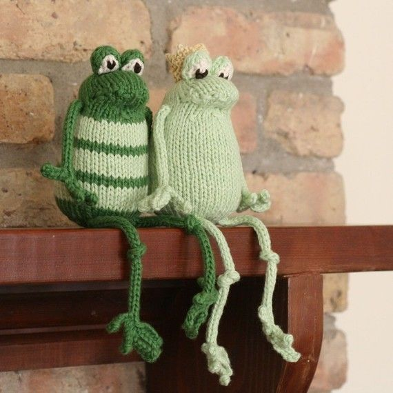Frog Prince Plain Or Fancy Pdf Knitting Pattern Diycrafts