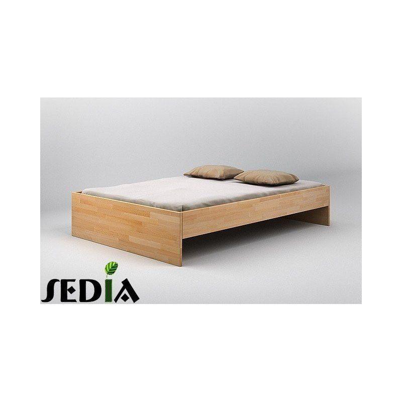 Łóżko drewniane do sypialni - Agat Łóżka bukowe Pinterest - dream massivholzbett ign design