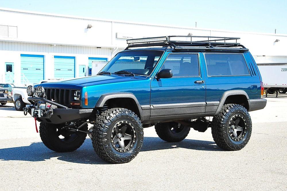 XJ_Blue/Green_Stg3+ Jeep xj, Jeep cherokee xj, Jeep xj mods