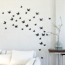 Spectacular  D Schmetterlinge Wanddekoration Wandtattoos Wandsticker Wand Deko Klebend