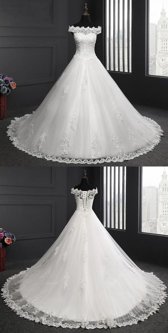 The Perfect Wedding Dress For The Bride #spitzeapplique