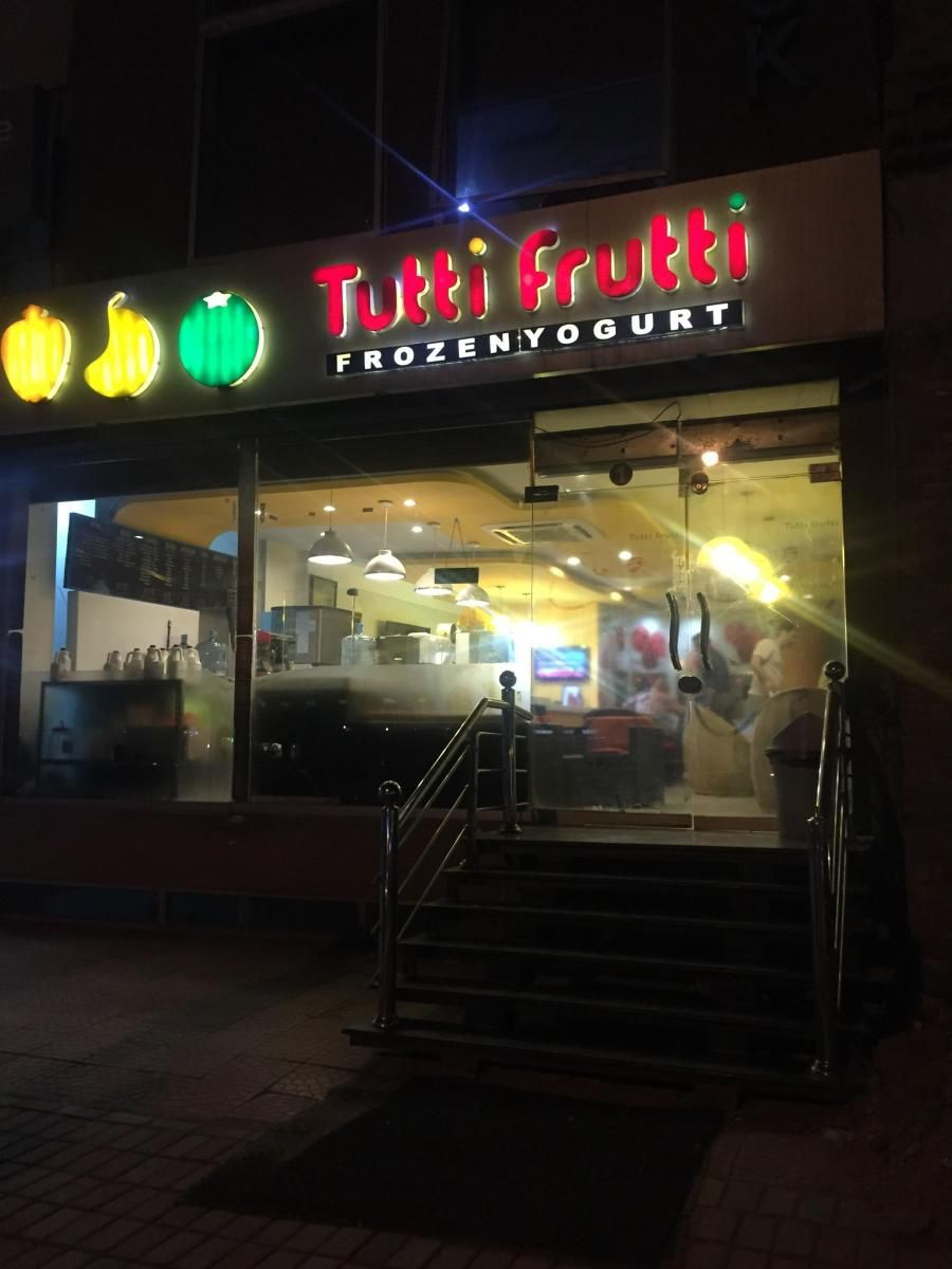 Tutti Frutti Frozen Yogurt Bahria Rawalpindi Pakistan How 2 Have Fun Tutti Frutti Frozen Yogurt Frozen Yogurt Tutti Frutti