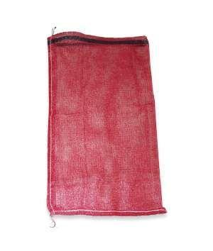 15 X 25 Mesh Polypropylene Bags Red