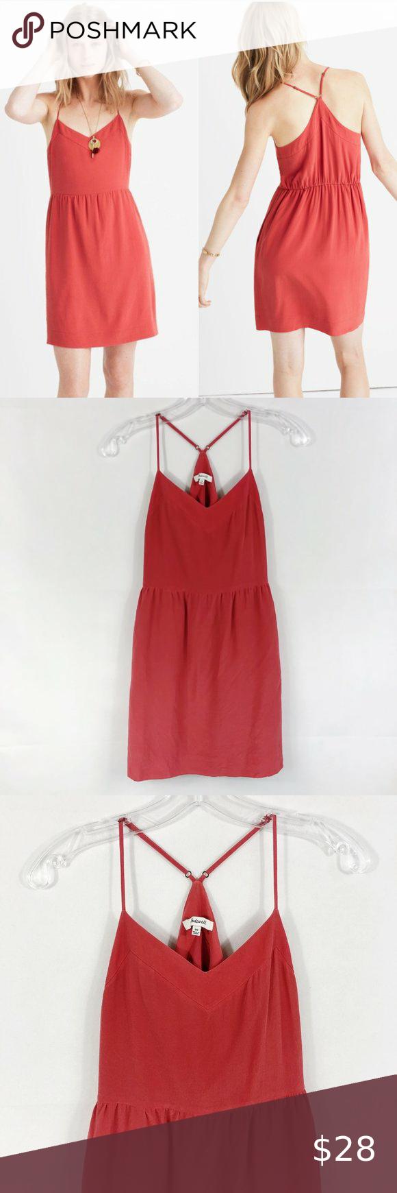 Madewell Silk Sunlight Racerback Summer Dress Summer Dresses Madewell Denim Dress Striped Tee Shirt Dress [ 1740 x 580 Pixel ]