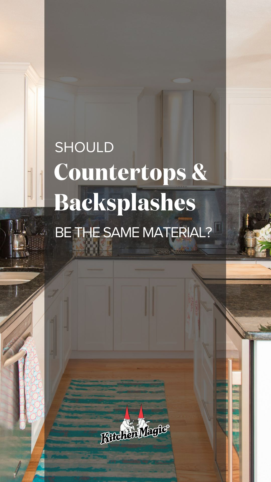 Should Countertops Backsplashes Be Made From The Same Material Countertops Stylish Kitchen Design Kitchen Design