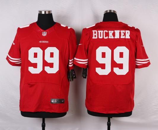 e4830ff799c Men 99 DeForest Buckner Jersey Football San Francisco 49ers Jersey ...